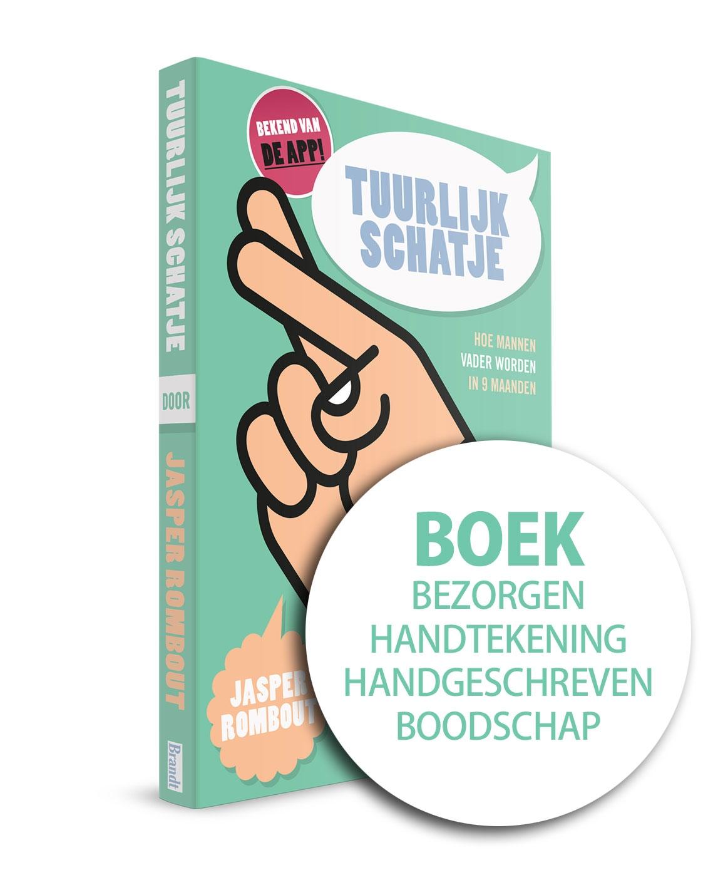 Tuurlijk Schatje – Hét boek + persoonlijke tekst + gesigneerd